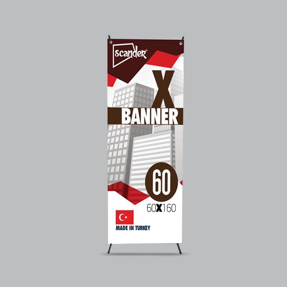 60x160cm X Banner