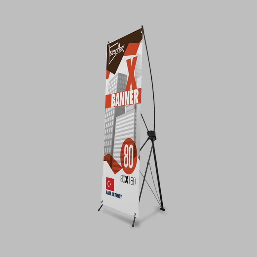 80x180cm X Banner